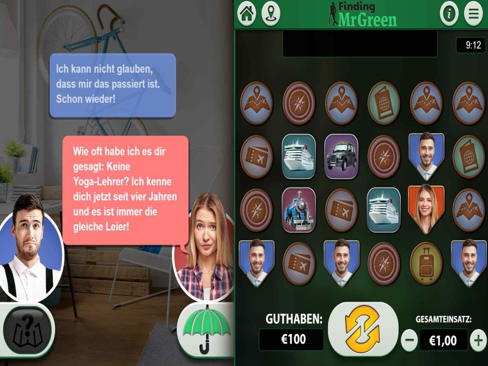 Finding Mr Green Slot screenshot