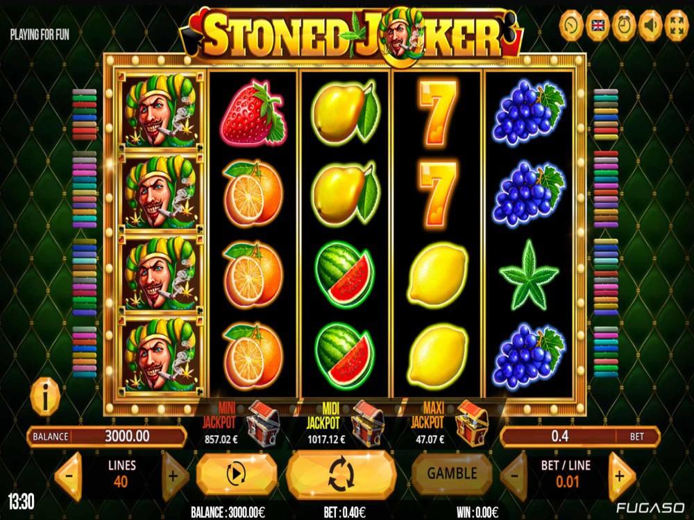 Stoned Joker Slot - Slots - GamblersPick