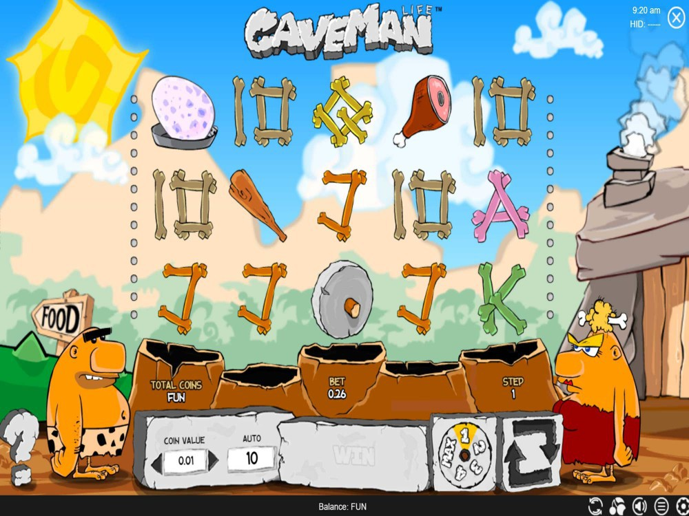 Caveman Slot by Espresso Games screenshot
