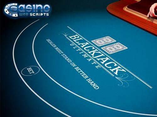 Blackjack Ultimate 3D Dealer