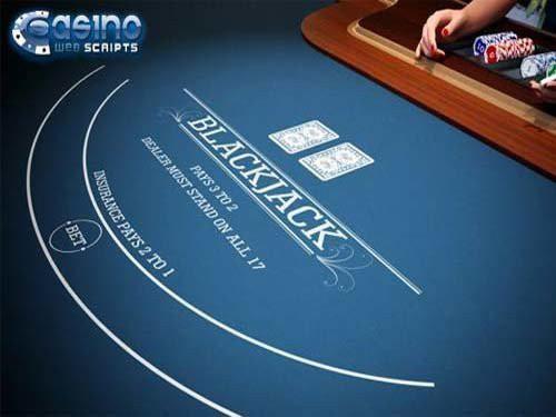 Blackjack 21 3D Dealer