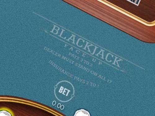 Blackjack 21 Faceup 2D