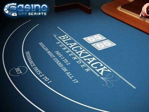 Blackjack 21 Surrender 3D Dealer