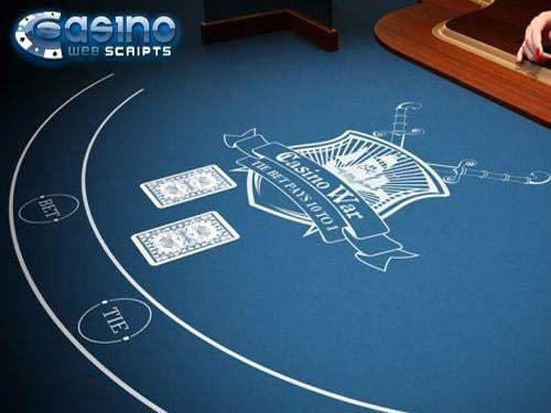 Casino War 3D Dealer