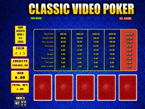 Classic Video Poker