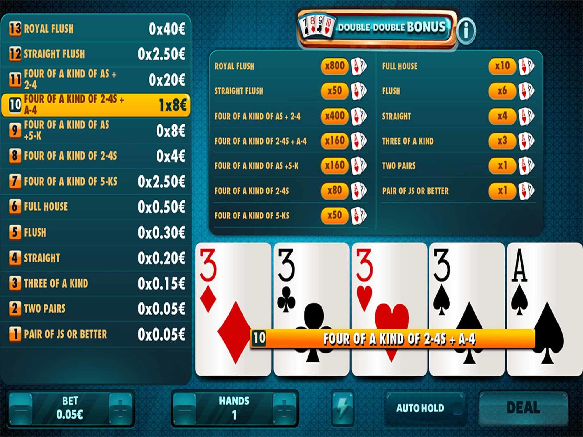 Double Double Bonus by Red Rake screenshot