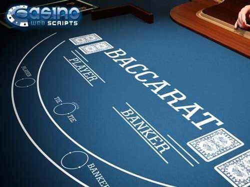 Multiplayer Baccarat 3D Dealer