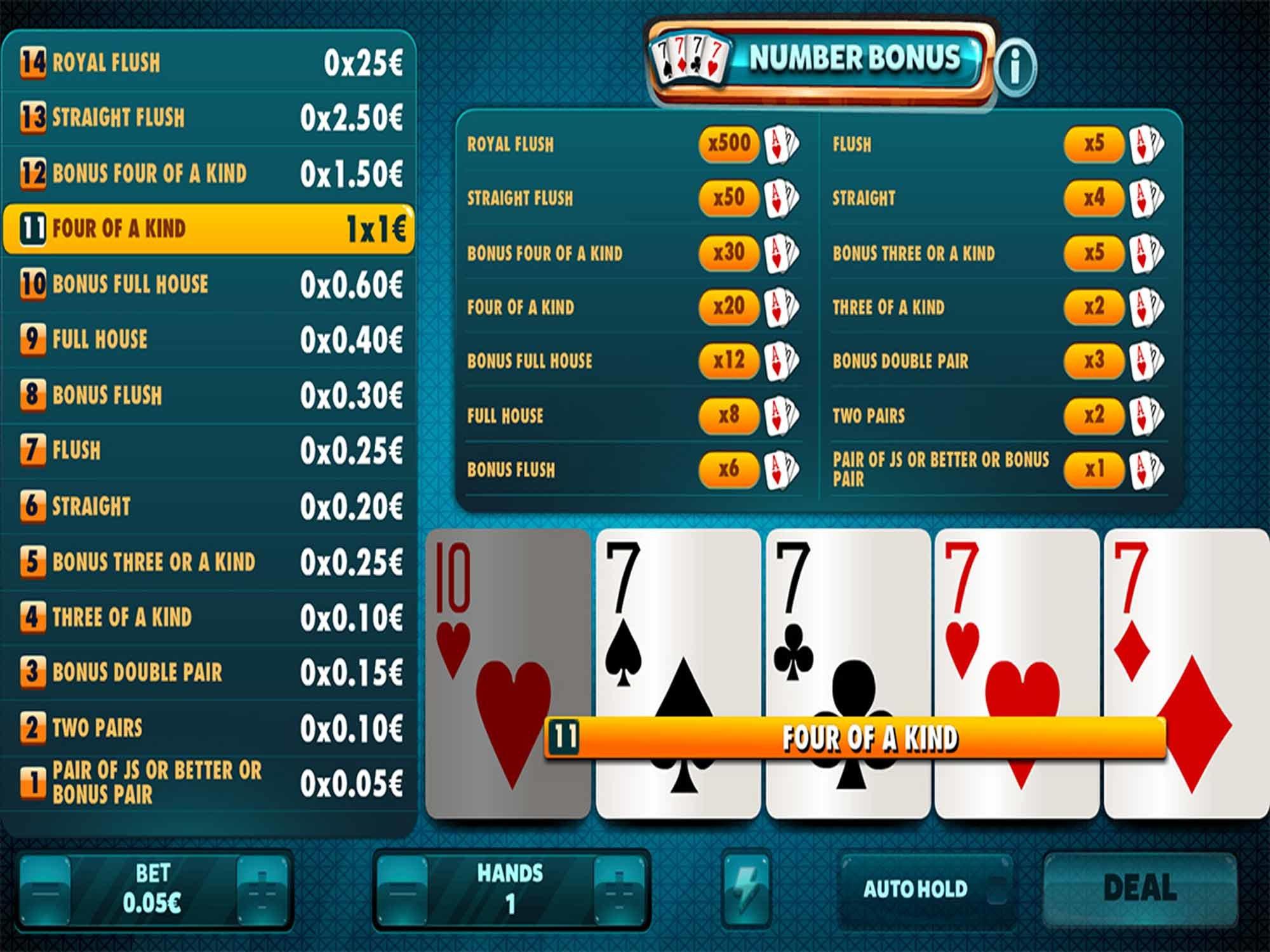 Number Bonus by Red Rake screenshot
