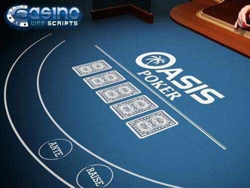 Oasis Poker 3D Dealer