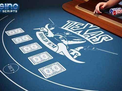 Texas Holdem Heads-Up 3D Dealer
