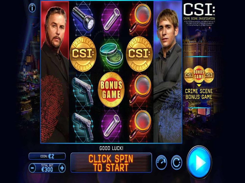 CSI Crime Scene Investigation Slot screenshot