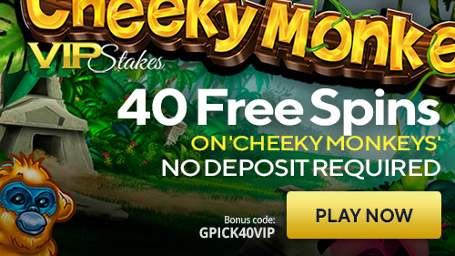 Enjoy 40 Free Spins At Vip Stakes Casino Exclusive To