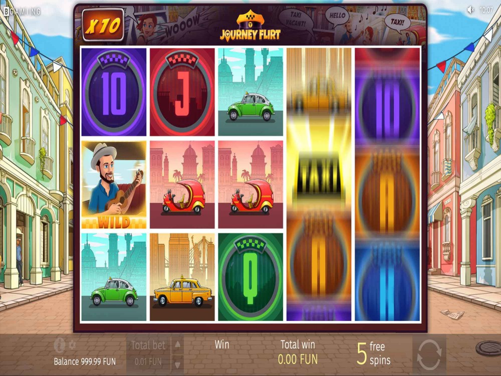 Journey Flirt Slot screenshot