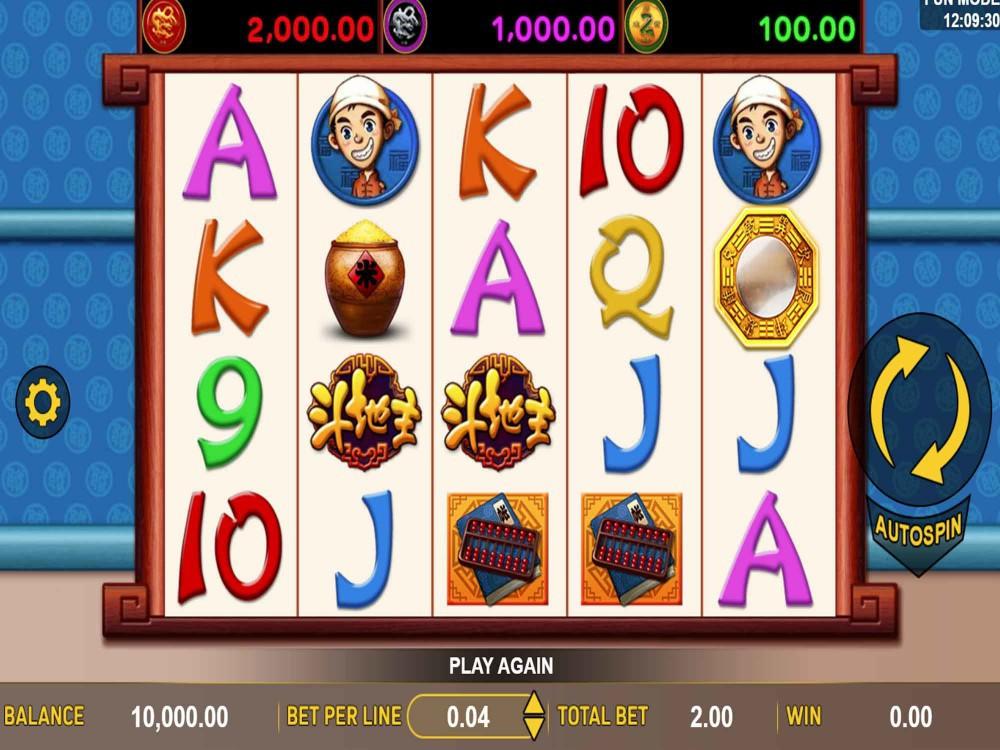 Dou Di Zhu Deluxe Slot screenshot