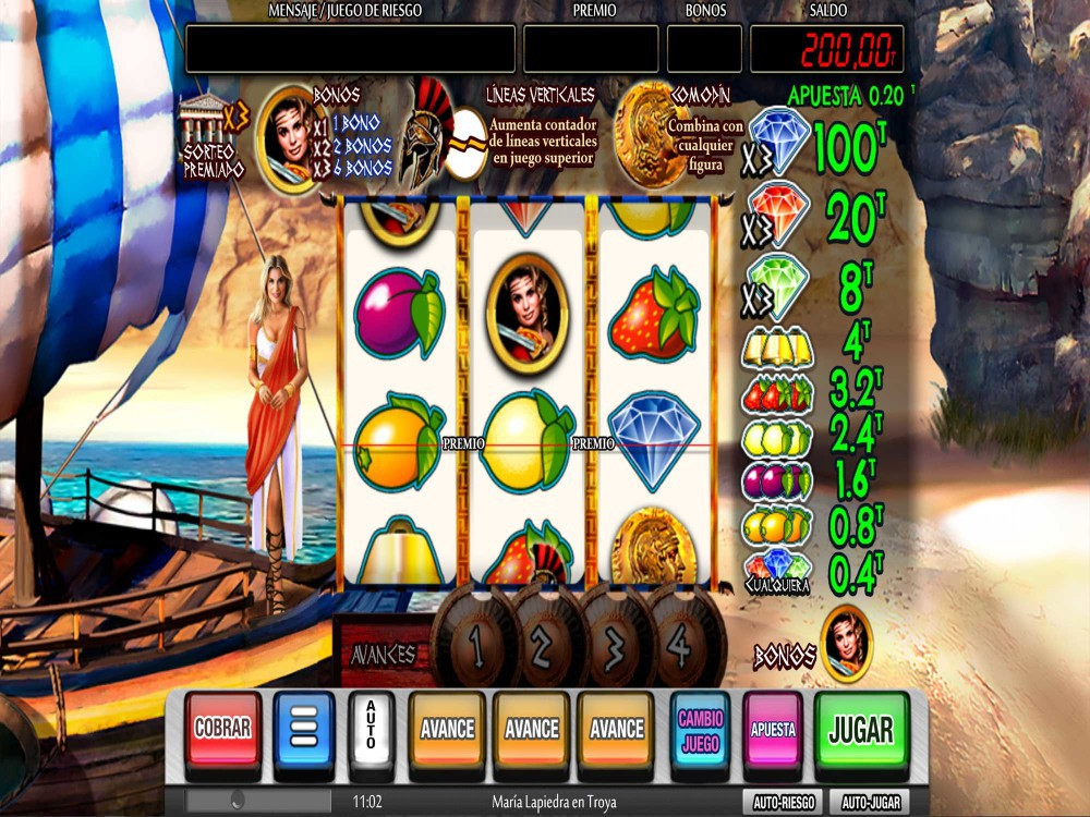 Spiele Maria Lapiedra En Troya - Video Slots Online
