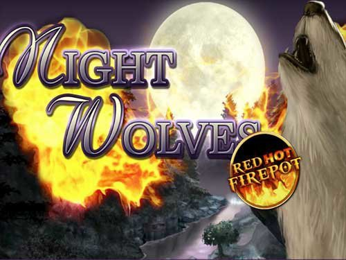 Night Wolves Red Hot Fire Pot