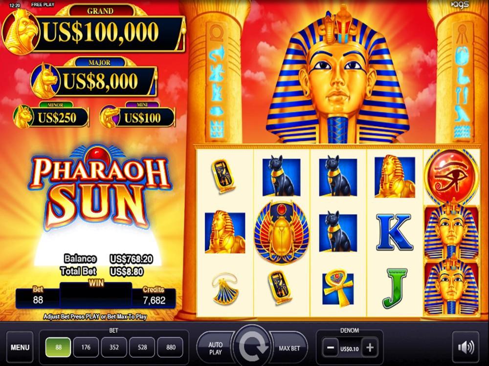 Pharaoh Sun Slot by AGS screenshot