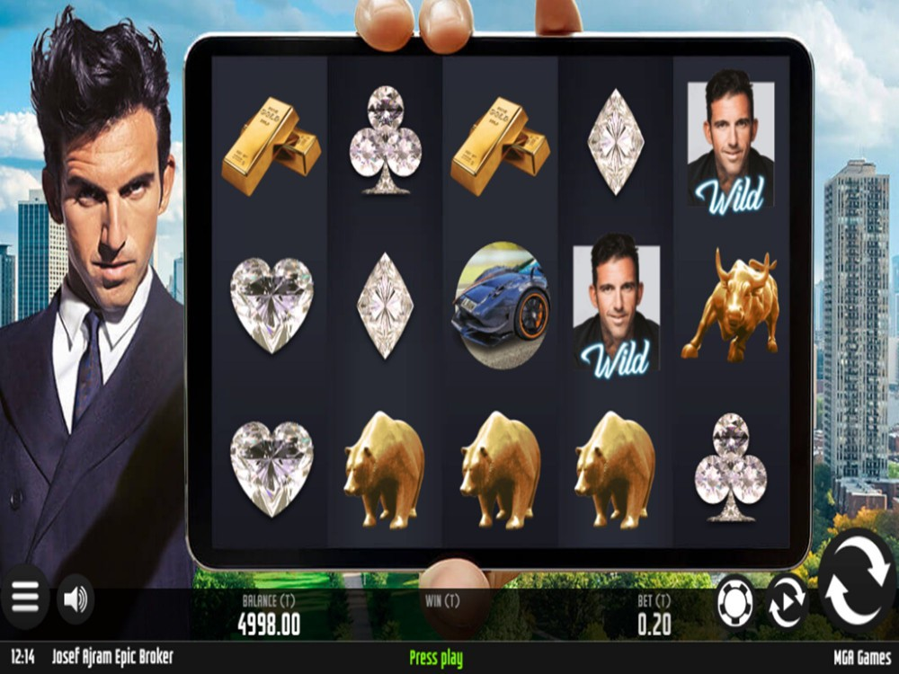 Spiele Josef Ajram Epic Broker - Video Slots Online