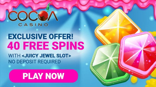 Claim Your No Deposit Free Spins At Cocoa Casino Promotions