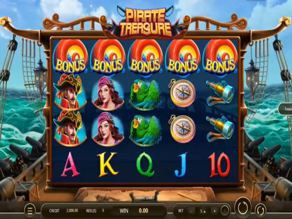 Pirates Treasure Slot Machine