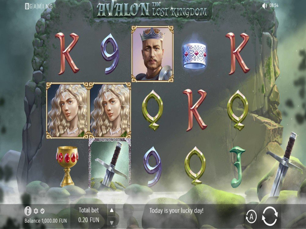 Avalon The Lost Kingdom Slot by BGAMING screenshot