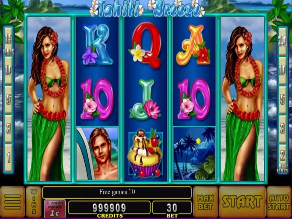 Tahiti Breeze Slot by Noble Gaming screenshot