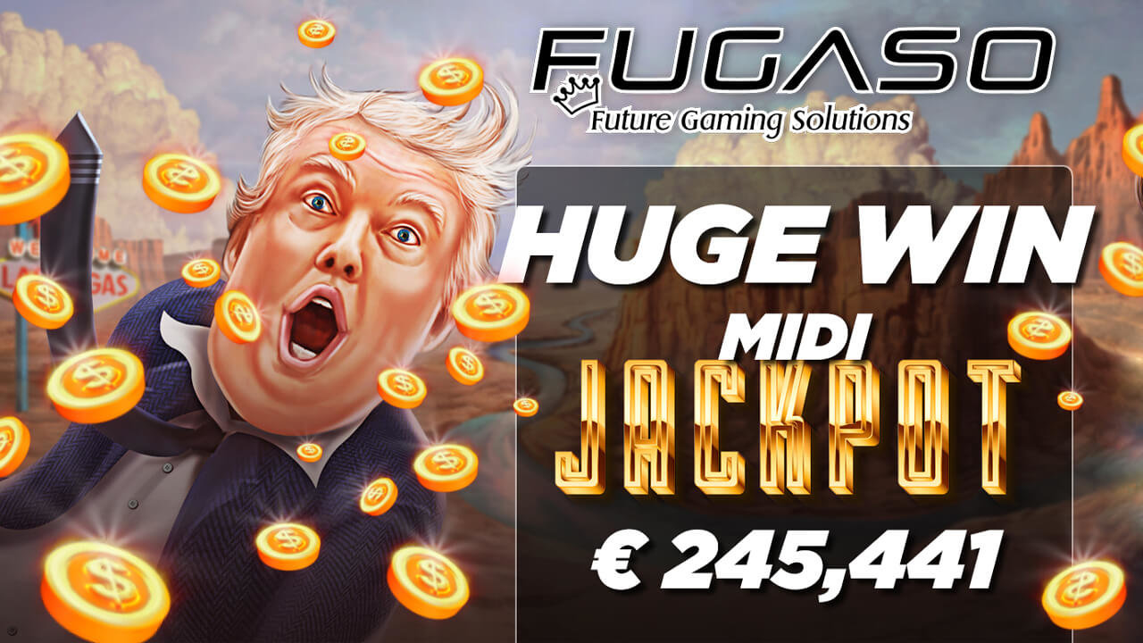 Trump It Deluxe Player Scores €245,000 Progressive Jackpot Windfall!