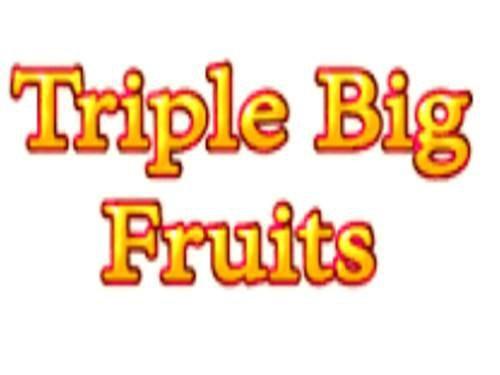 Triple Big Fruits