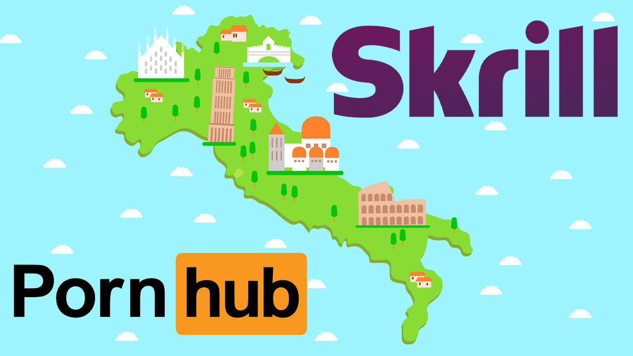 Italy Receives Much Needed Financial Relief From Skrill & Pornhub