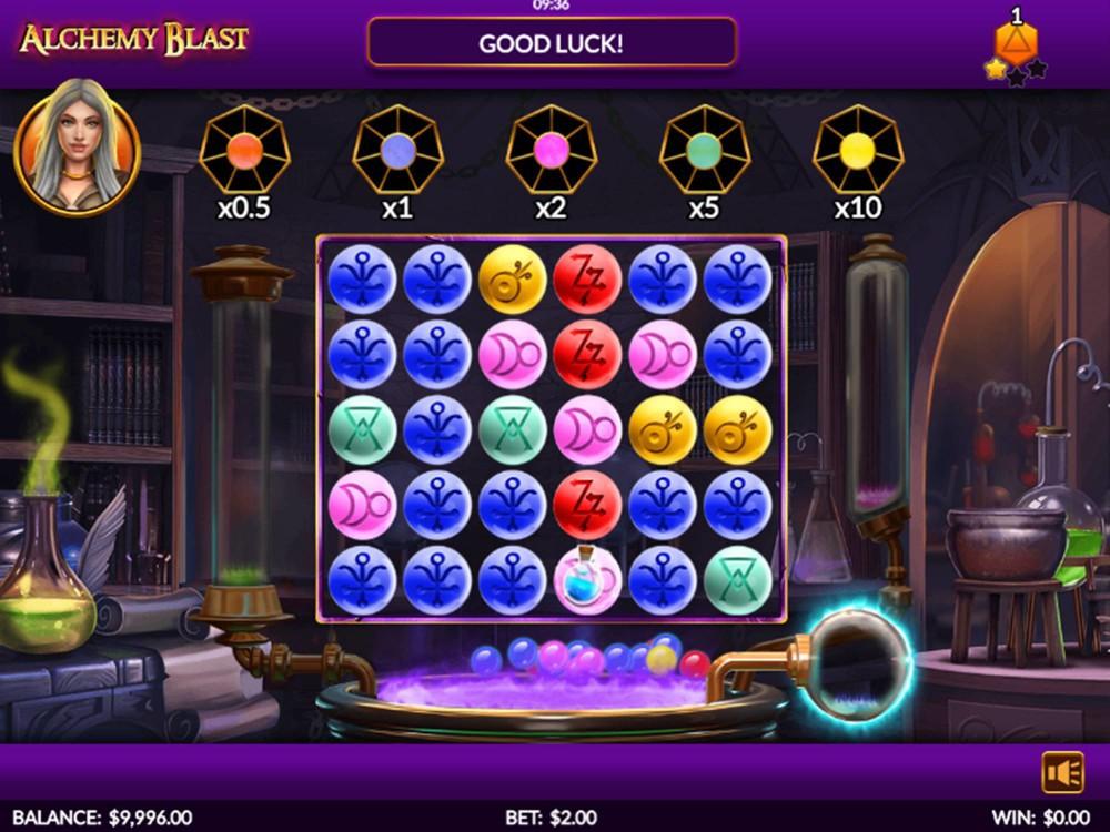 Alchemy Blast Slot by Skillzzgaming screenshot