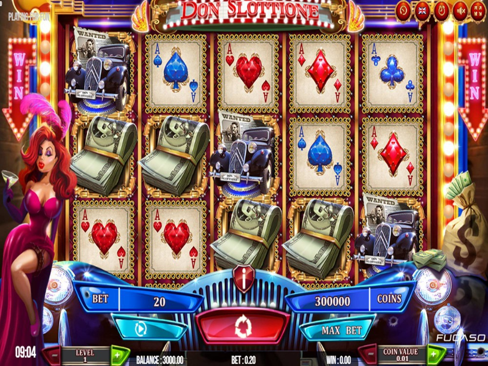 Don Slottione Slot by Fugaso screenshot