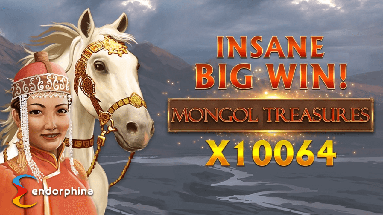 Massive Win on Endorphina's Mongol Treasures Slot