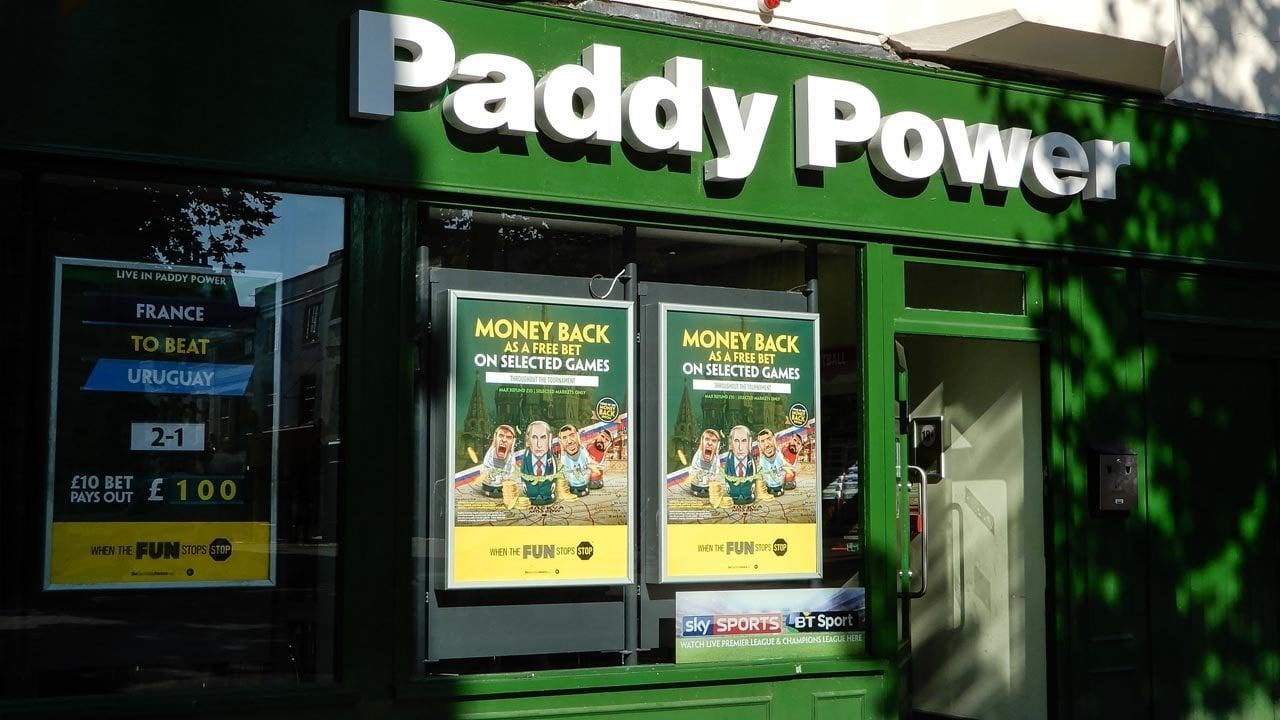 betting shops uk history britain