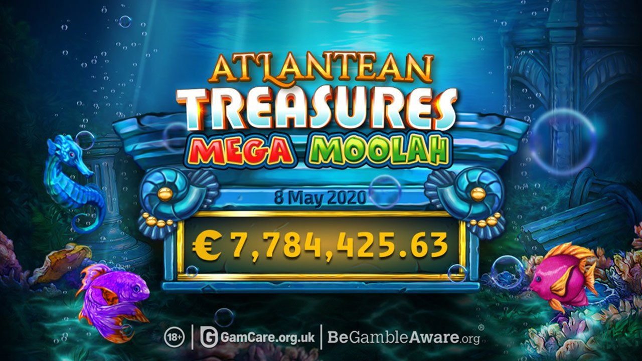 Atlantean Treasures Player Lands €7.7 Million Mega Moolah Jackpot Win
