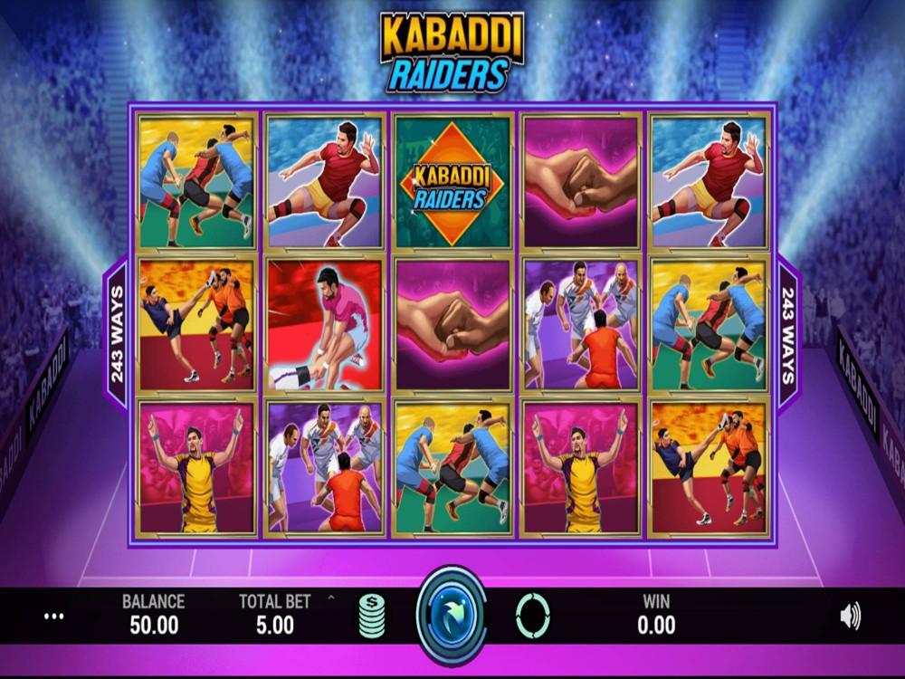 Kabaddi Raiders Slot by Indi Slots screenshot