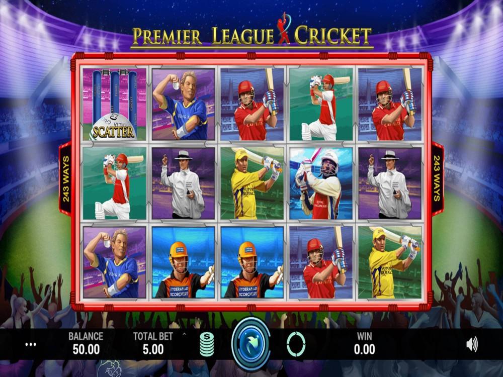 Premier League Cricket Slot by Indi Slots screenshot
