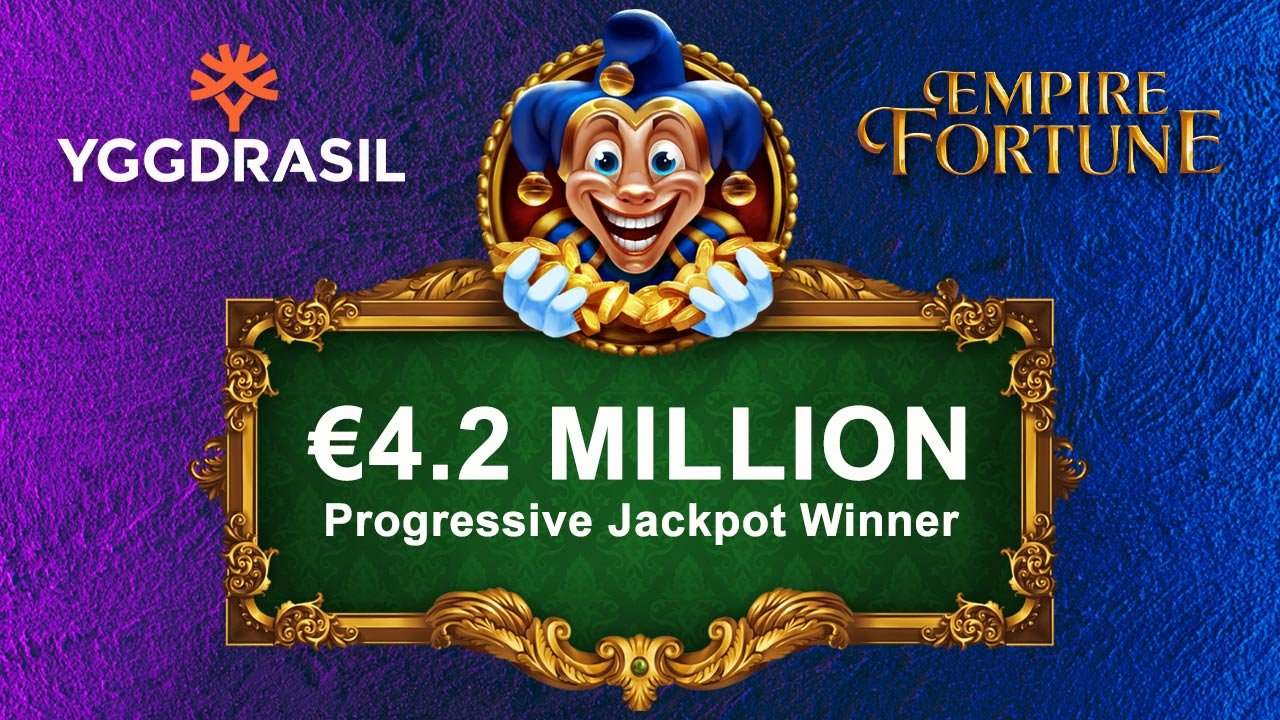 Wildz Winner Takes Home €4.2 Million Empire Fortune Progressive Jackpot
