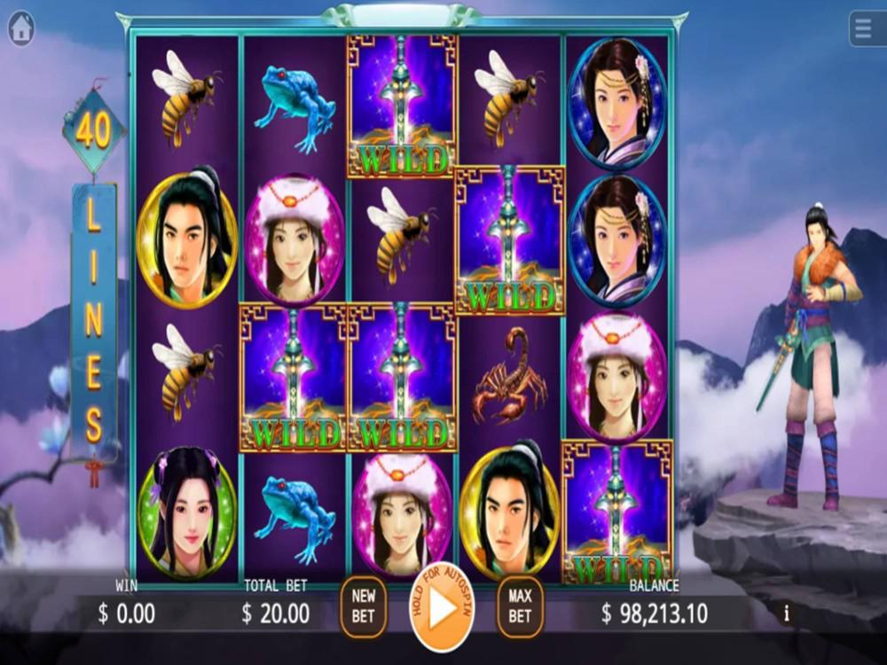 Legend Of Paladin Slot by KA Gaming screenshot
