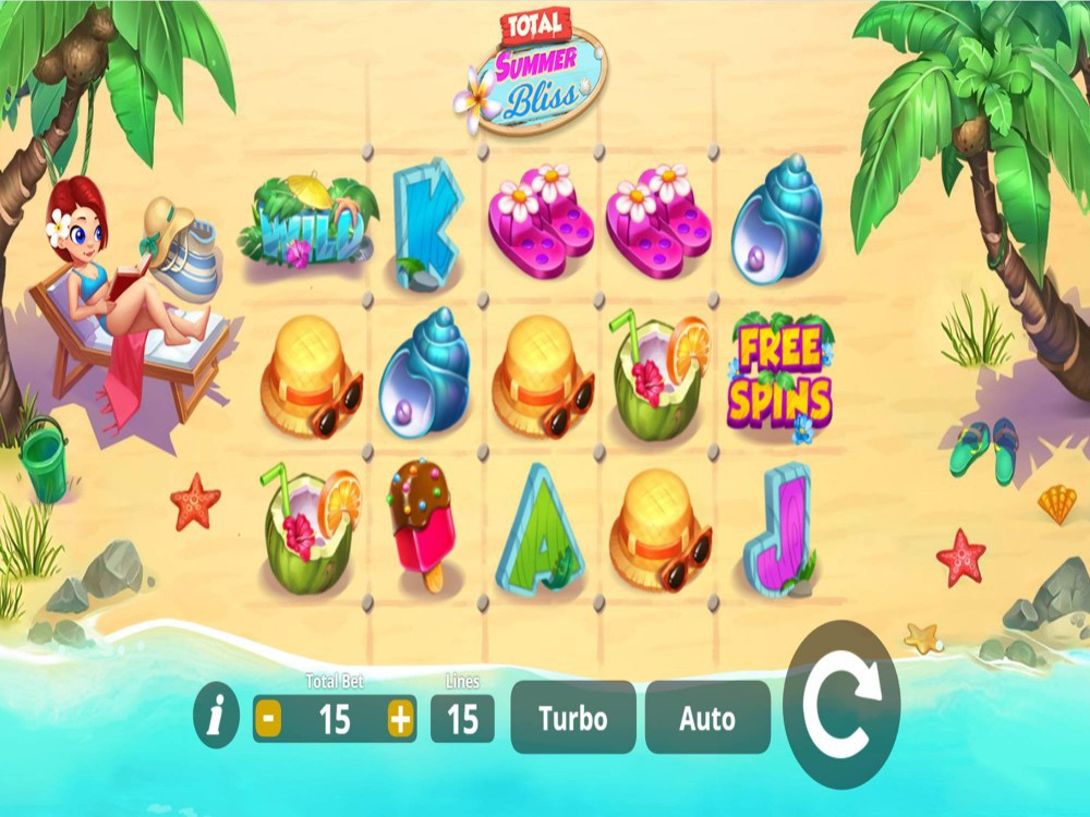 Total Summer Bliss Slot by Lady Luck Games screenshot