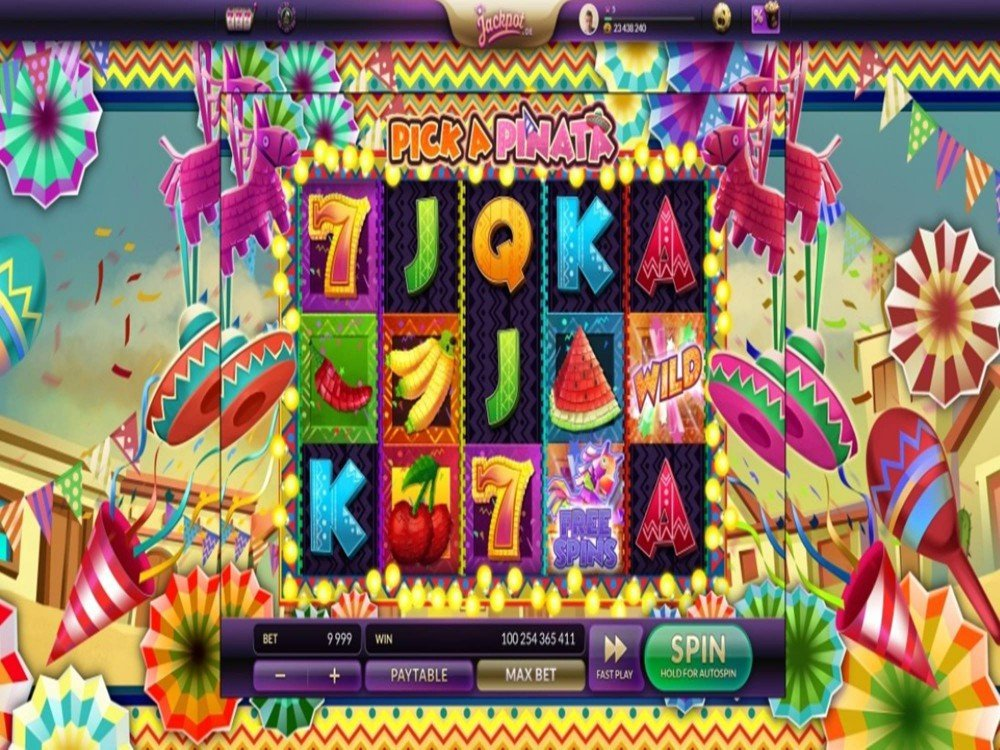 Pick A Pinata Slot by Green Jade Games screenshot