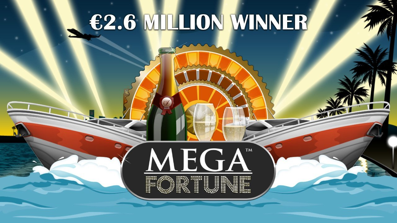 NetEnt's Mega Fortune Slot Serves Up Record-Breaking €2.6 million Jackpot Win