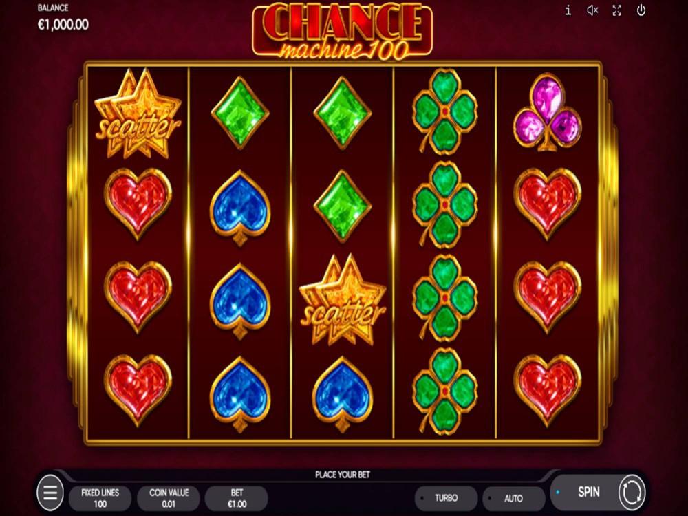 Chance Machine 100 Slot by Endorphina screenshot