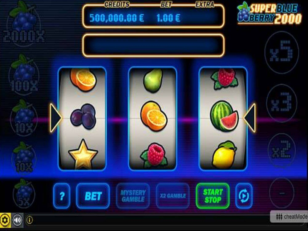 Super Blueberry 2020 Slot by GAMING1 screenshot