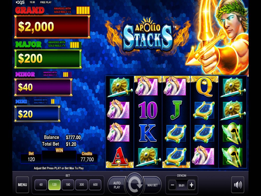 Apollo Stacks Slot by AGS screenshot