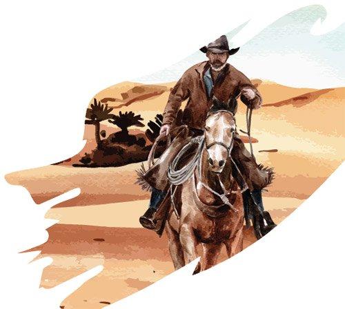 Cowboy Day - Riding Horse