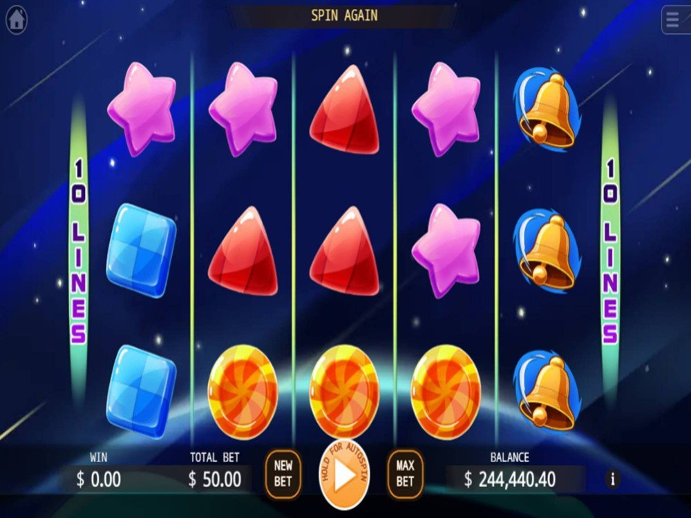 Space Storm Slot by KA Gaming screenshot