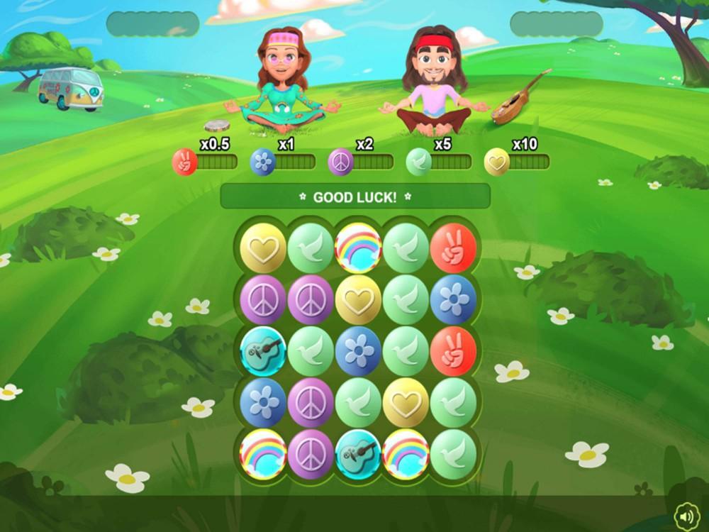 Hippie Days Slot by Skillzz Gaming screenshot