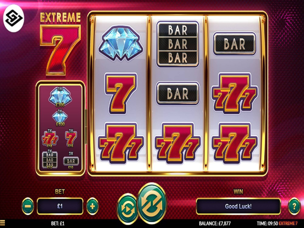 Extreme 7 Slot by Green Jade Games screenshot