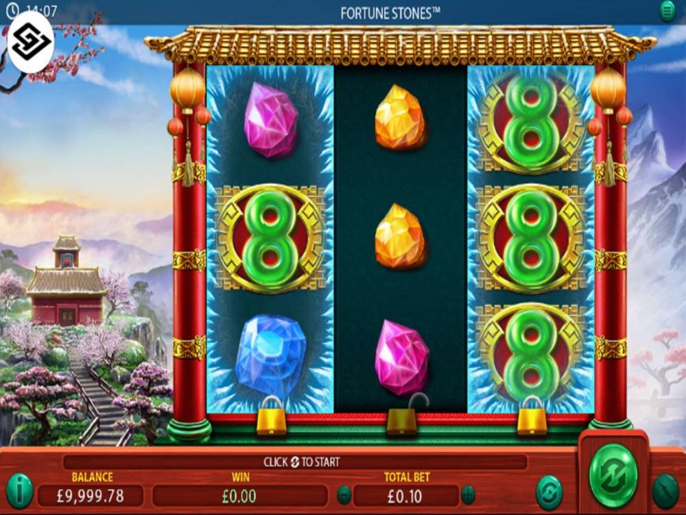 Fortune Stones Slot by Green Jade Games screenshot