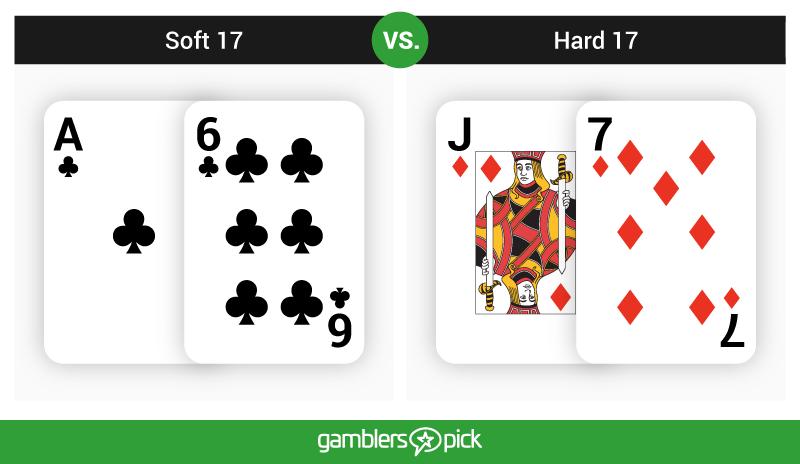 Soft 17 VS Hard 17 in Blackjack
